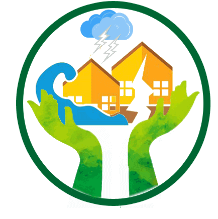 disaster relief round logo