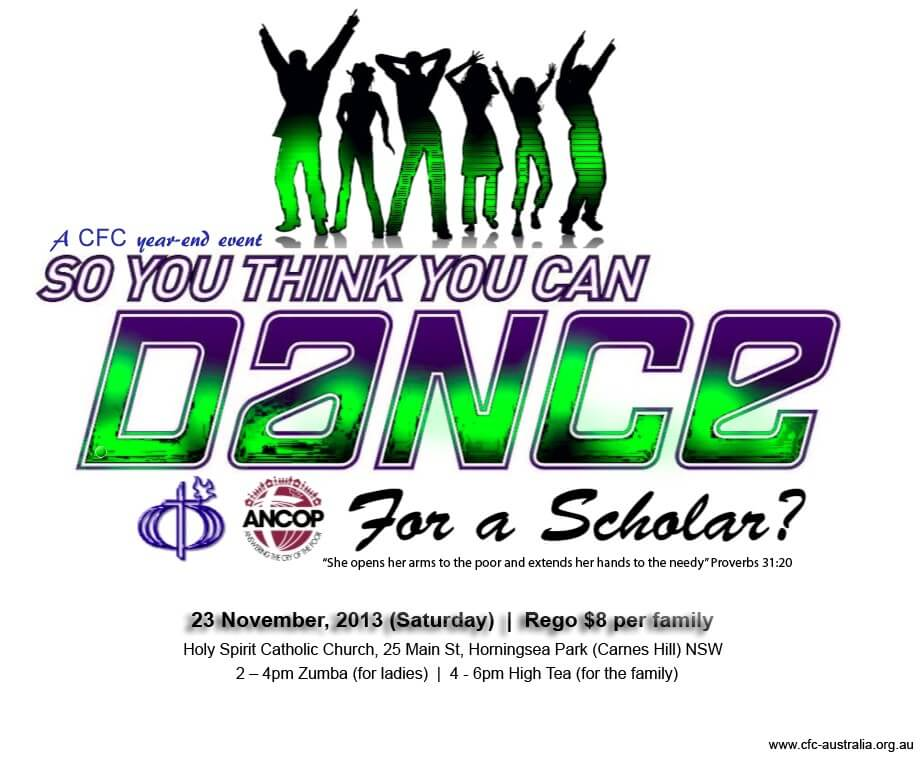 you can dance flyer