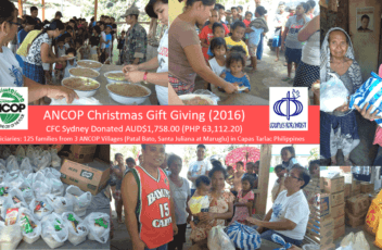 ancop christmas with aetas2016