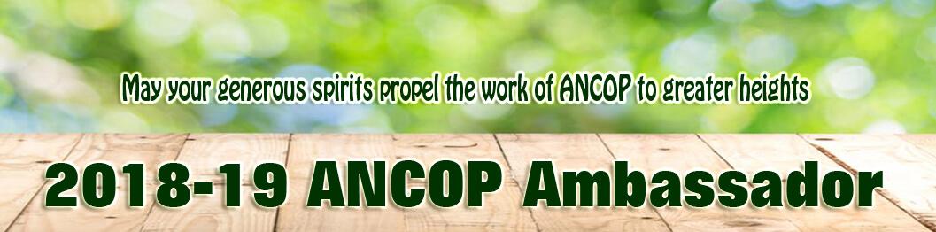2018 Ancop Ambassadorpage header